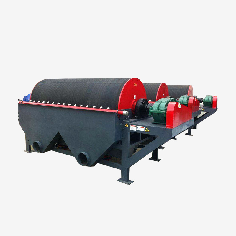 Permanent mining magnetic separator iron removal machine