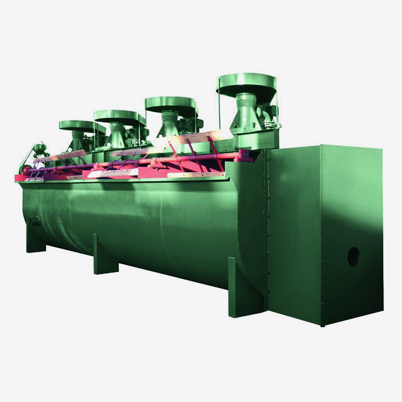 Flotation machine of copper zinc lead nickel gold selection