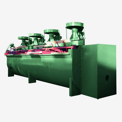 Flotation machine of copper zinc lead nickel gold selection