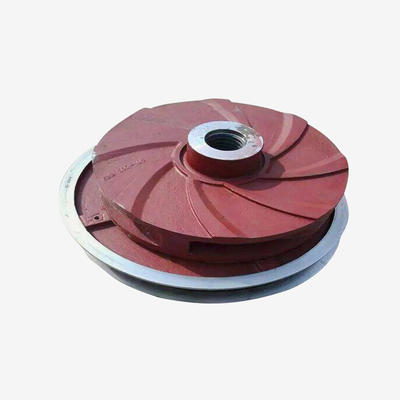 Slurry pump spare parts impeller guard plate body shaft