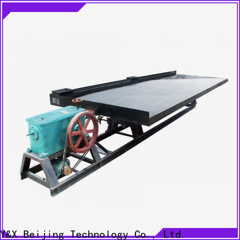 YX gravity separation supplier for mine industry