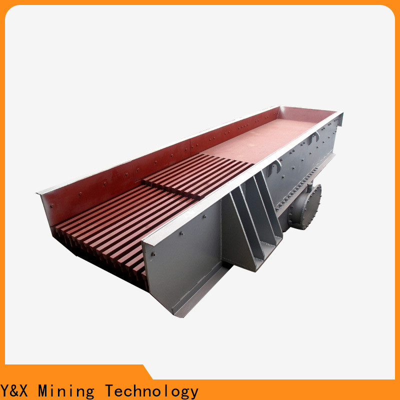 YX new electromagnetic vibrating feeder supplier for mining