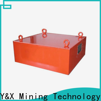 YX durable magnetic separator types supply used in mining industry