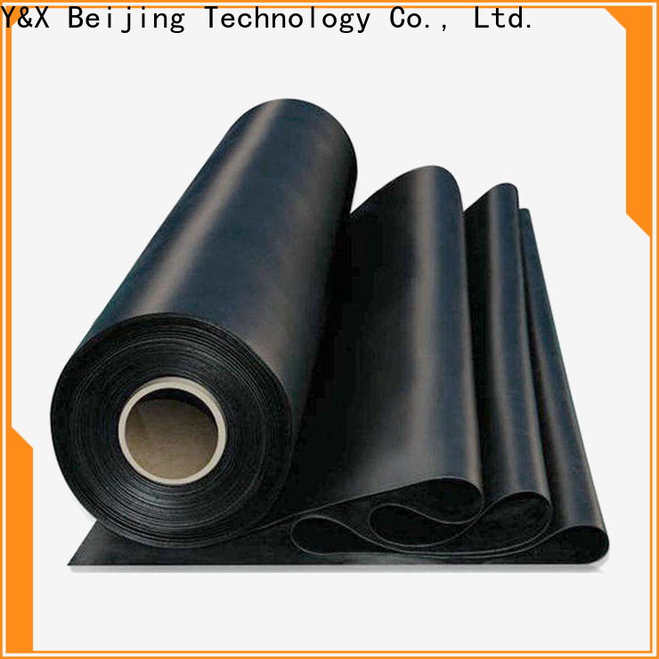 YX energy-saving stretchy rubber sheet company for sale