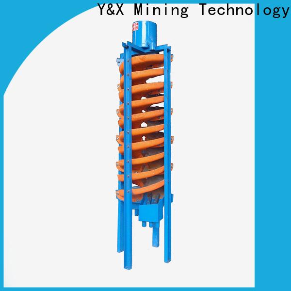 YX new spiral gold separator company mining equipment