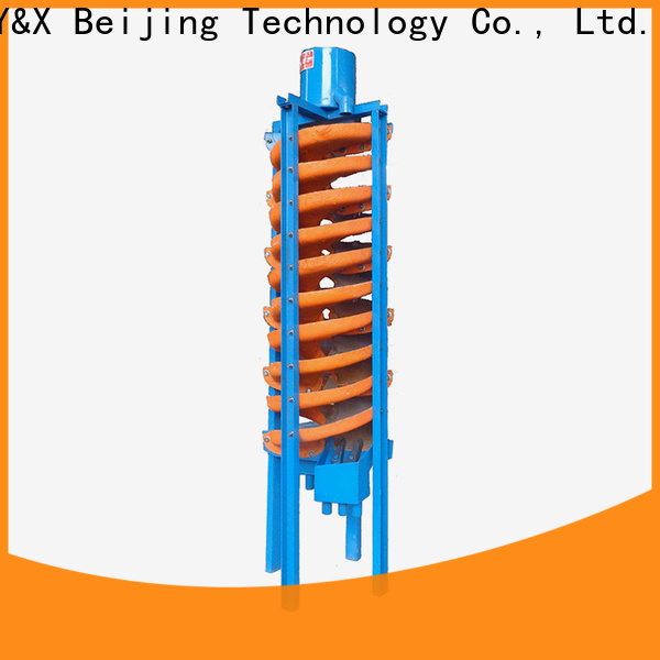 stable spiral gold separator inquire now used in mining industry