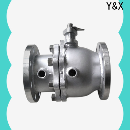 YX vacuum ball valves series for mine industry