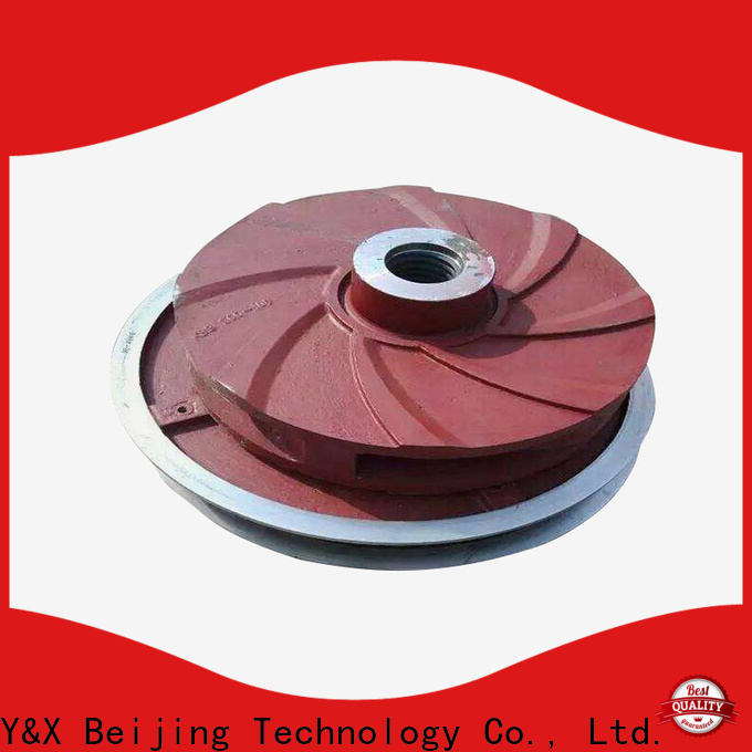YX best slurry pump spare parts series for mining