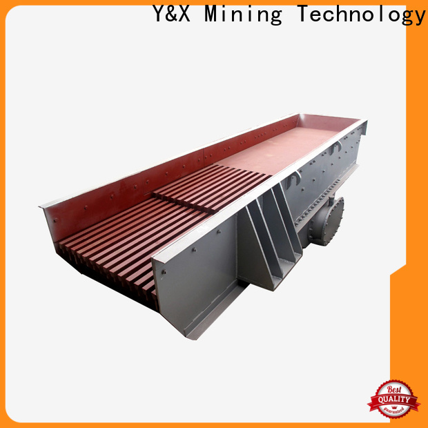 latest vibrating feeder machine factory direct supply on sale
