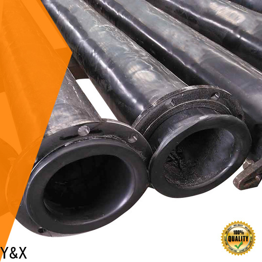 YX hot selling tailings pipe manufacturer for mine industry