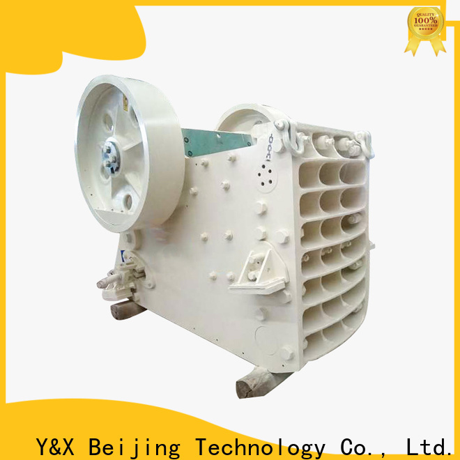 YX stable types of crushing equipment directly sale mining equipment