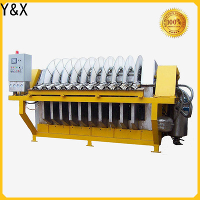YX durable types filtration equipment with good price used in mining industry