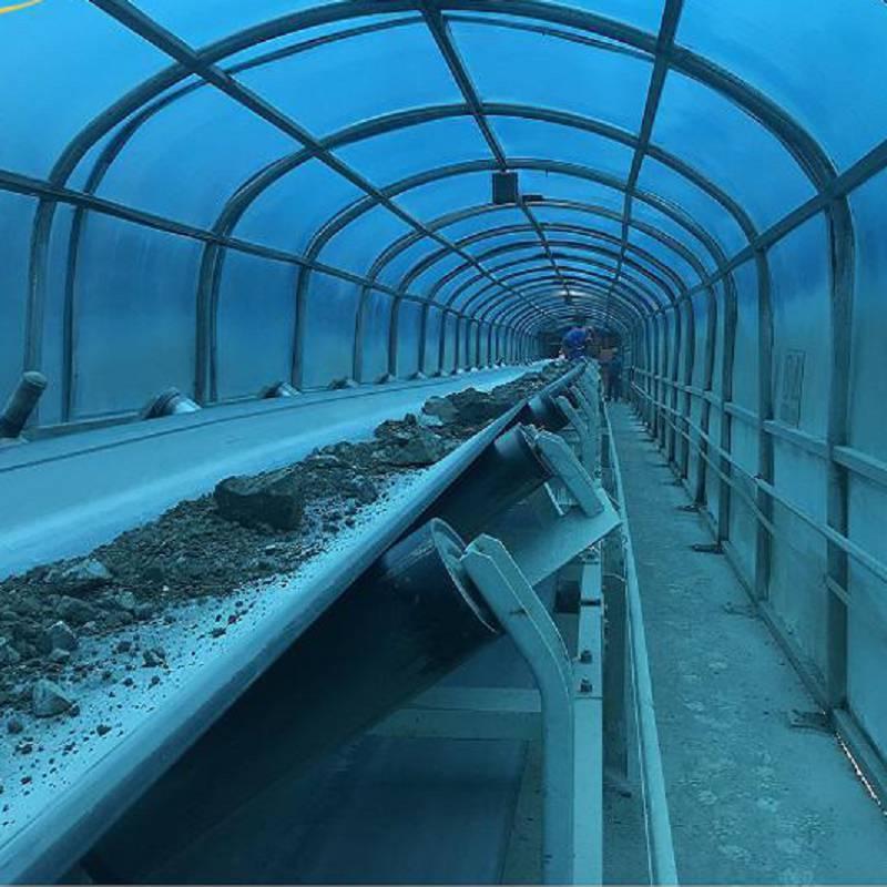 Belt Conveyor with 24-hour Uninterrupted Waterproof Design