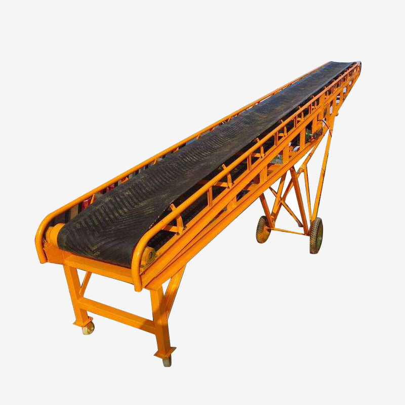 Conveyor Mobile Belt Equipment Used to Transport Materials in Mining