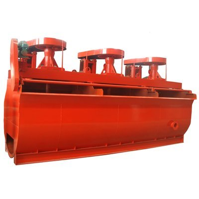Self-absorbed mechanical rabbling flotation machine of BF-type